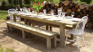 rustic outdoor table wood whisperer outdoor designs