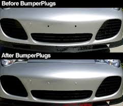 porsche painted bumper plugs