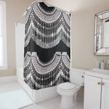 Moroccan Print Curtains Moroccan Shower Curtains Zazzle