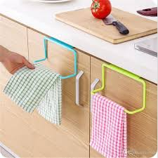 kitchen cabinet sponge holder towel rack hanging holder cupboard kitchen cabinet bathroom sponge