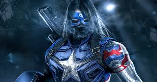 Captain Barnes What Winter Soldier May Look Like As Captain America In Infinity