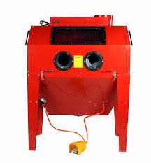 dragway tools model 110 sandblast sandblasting cabinet u0026 built in