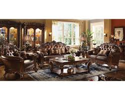 Traditional Sofa Sets Living Room by Traditional Sofa Set Vendome Cherry By Acme Furniture Ac52001set