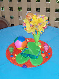 Pool Party Ideas Pool Party Centerpiece Pool Party Pinterest Pool Party