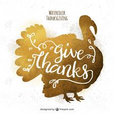 golden background of thanksgiving turkey silhouette vector free