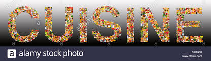 word for cuisine foodfolio word on grad cuisine stock photo 3251282 alamy