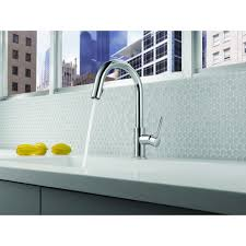 brizo solna kitchen faucet faucet 63020lf ss in brilliance stainless by brizo