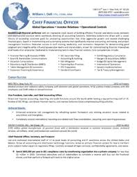 Cfo Resume Examples by Job Search Strategies Executive Resume Services Part 2