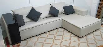 Scatter Back Cushions Armani Casa Corner Sofa In Neutral Fabric With Three Back