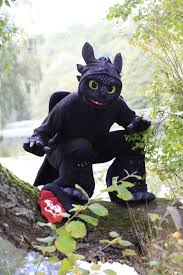 Toothless Costume Toothless Cosplay The Fish Predator By Thebandicoot On Deviantart
