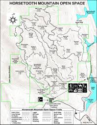 Fort Collins Colorado Map by Towers Road U2013 Horsetooth Mountain Park K9runner