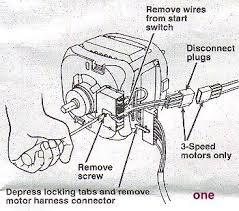 direct drive washer access procedures appliance aid