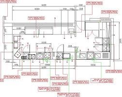 cafe kitchen layout and decor ideas homelk com cadkitchenplanscom