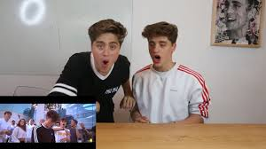 reacting to our new song it u0027s everyday bro youtube