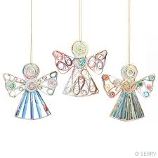ornaments recycled paper ornaments