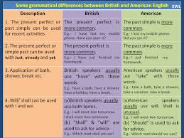 forum british and american english fluent land what are the differences between british and american english