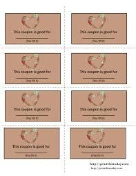 love coupon template microsoft word