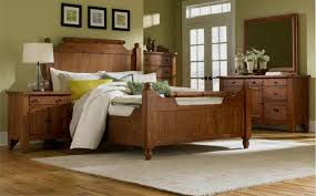 Rustic Wooden Bedroom Furniture - broyhill attic rustic oak bedroom collection