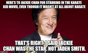 Jackie Chan Memes - lightning round name 10 things that aren t jackie chan imgflip