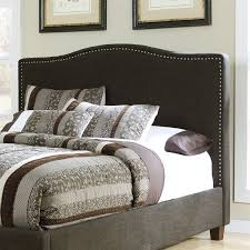 Upholstered California King Bed Ashley Kasidon Fabric Upholstered California King Bed In Brown