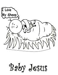 good baby jesus coloring pages 51 in coloring pages for kids