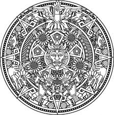 coloring mandala god color free halloween pages easy