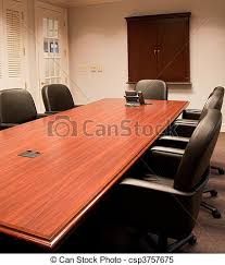 Mahogany Conference Table Nice Mahogany Conference Table And Leather Chairs An Empty