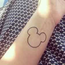 tattoo of mickey mouse u0027s shape on justine