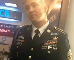 Most Decorated Soldier Currently Serving Us Airways Attendant Refuses To Hang Army Veteran U0027s Jacket As