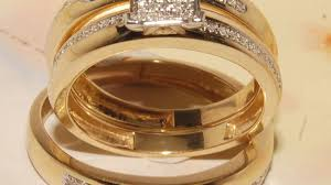Amazon Wedding Rings by Wedding Rings Him And Her Wedding Rings Shining His And Hers