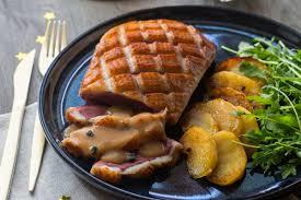 canard cuisine magret de canard sauce périgueux aux pommes fondantes cuisine