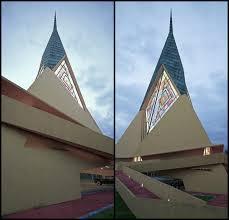 frank lloyd wright u0027s unbuilt trinity chapel brought to life in