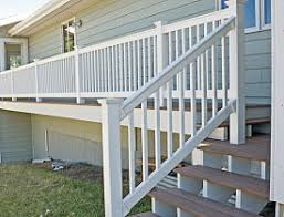 vinyl and composite deck railings networx