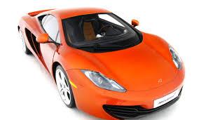 orange mclaren 12c mclaren mp4 12c 2011 scale model cars