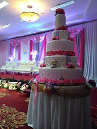 Wedding Cake Tangerang Wedding By The Purple Wedding Cake Bridestory Com