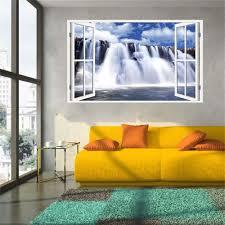 Home Decor Waterfalls by Popular 3d Wallpaper Art Waterfall Buy Cheap 3d Wallpaper Art