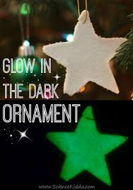 glitter glow in the ornaments the science kiddo