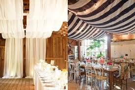 draped ceiling wedding decor draping