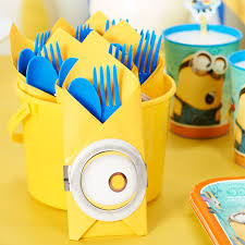 minions centerpieces diy minions party ideas birthday express