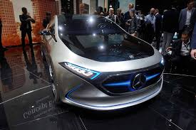mercedes supercar concept mercedes concept previews all electric compact with 250 mile range