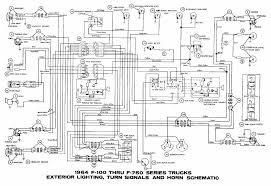 car wiring interior light turn signals and horn schematic