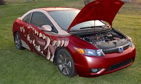 first attempt at modifying a car in photoshop honda civic forum