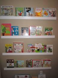 home design floating bookshelves for kids shabbychic style