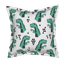 dinosaur fabric dino kids nursery tea towels by andrea lauren