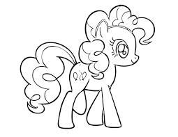 fresh pony pinkie pie coloring pages 3445 unknown