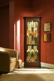 small curio cabinet with glass doors love the displays in the curio cabinet home decor pinterest
