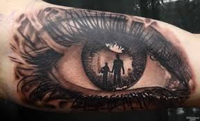 eye tattoo photo num 1069