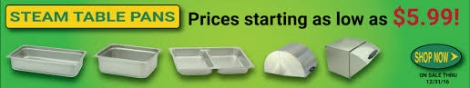 steam table pans for sale steam table pans and covers on sale now until 12 31 16 gator chef
