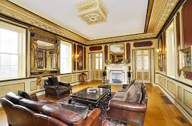 living room in mansion historic 30 room mansion in livingston nj homes of the rich