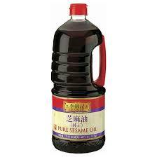 Minyak Wijen Di Indo bahan dan bumbu dapur masakan korea sedap sekejap